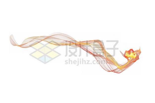 一缕燃烧的火焰装饰461184psd/png图片素材