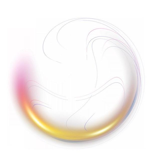 抽象彩色气泡装饰786225png图片素材 装饰素材-第1张