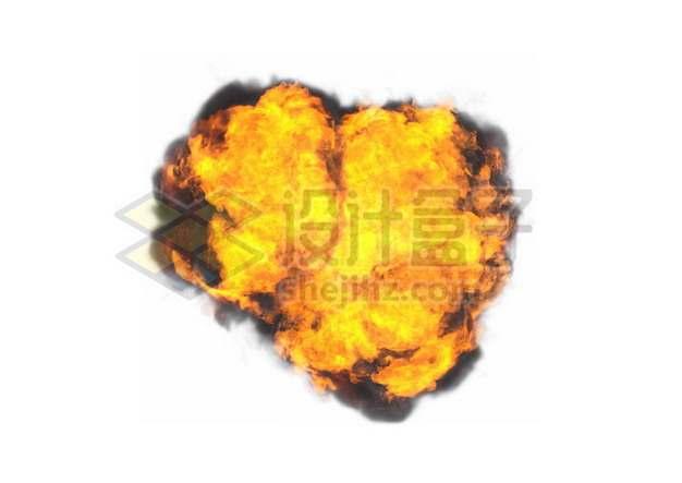 爆炸产生的火球997680psd/png图片素材