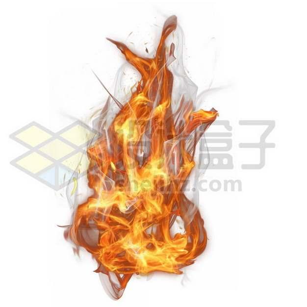 燃烧的火红火焰火苗518107psd/png图片素材