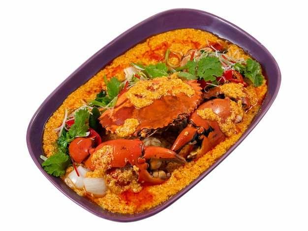 美味的咖喱蟹东南亚名菜咖喱螃蟹208895png图片素材
