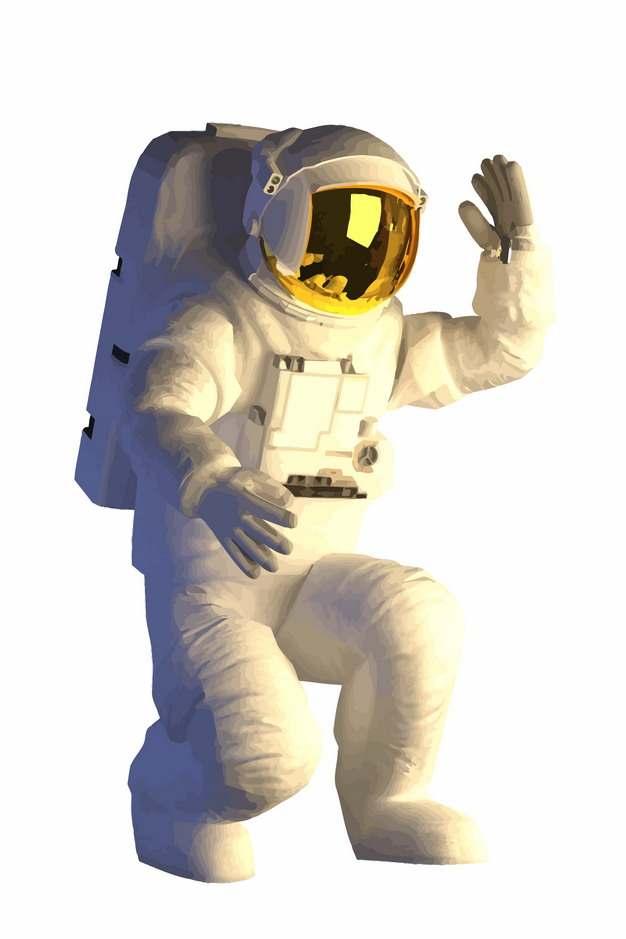 身穿宇航服的宇航员267621png矢量图片素材