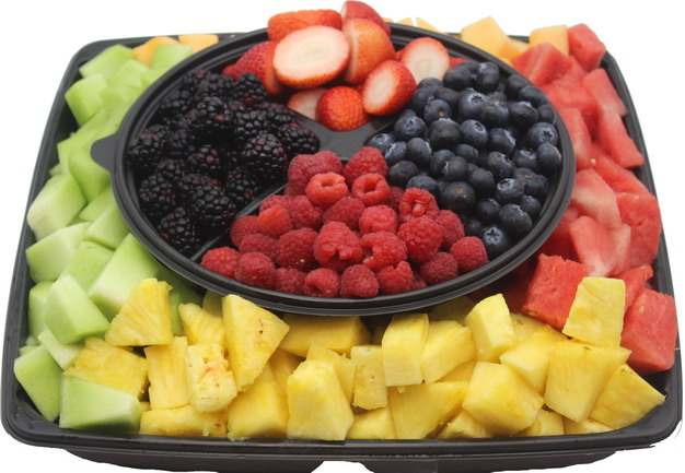 桑葚树莓黑莓草莓香瓜菠萝西瓜哈密瓜水果拼盘480701 png图片素材