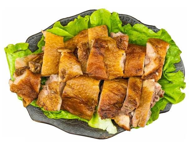 切好的烧鹅烤鸭png图片素材