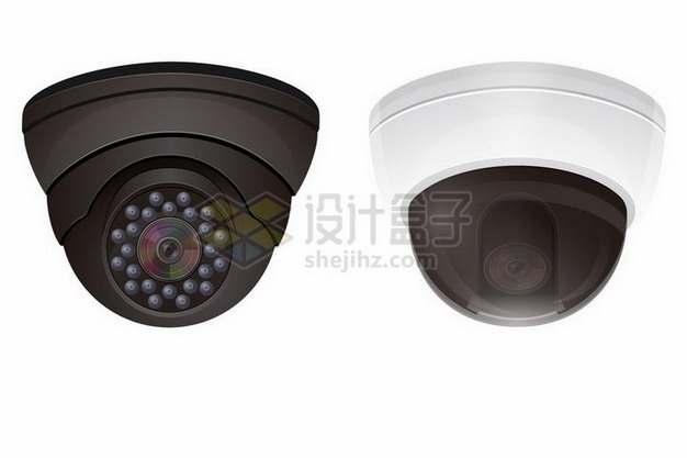 2款逼真的360监控摄像头904116png矢量图片素材