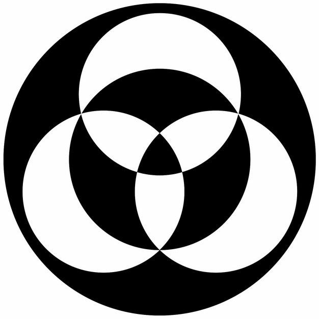 麦田怪圈抽象图案315787png图片素材 线条形状-第1张
