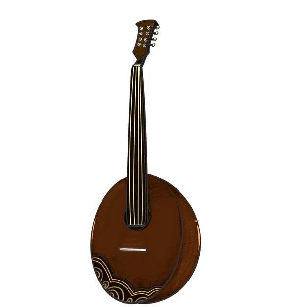 冬不拉哈萨克传统乐器475201png图片素材
