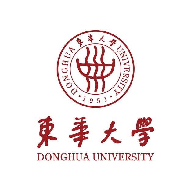 带校名的东华大学校徽标志871548png免抠图片素材