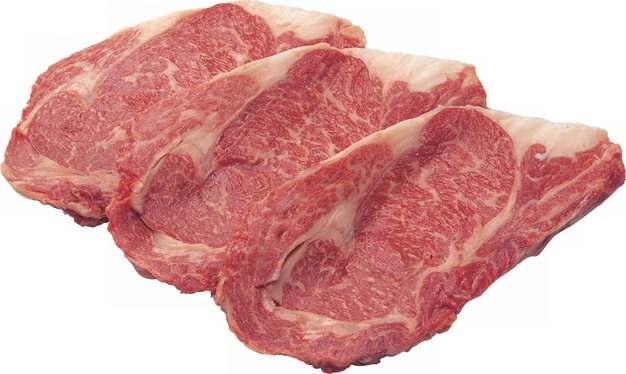 切好的和牛雪花牛肉牛排牛扒244179png图片素材