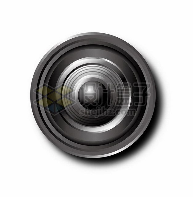 一款逼真的相机变焦镜头911771png矢量图片素材 IT科技-第1张