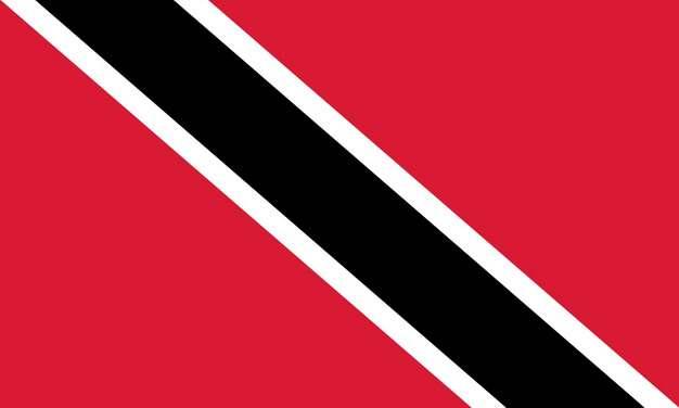 标准版特立尼达和多巴哥国旗图片素材