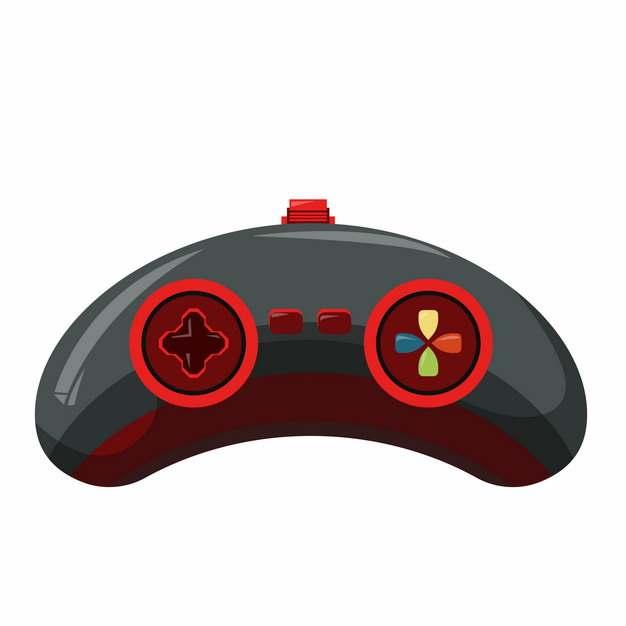 红黑色的游戏手柄xbox手柄ps3手柄500242png矢量图片素材