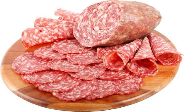 美味切片的香肠红肠美食526871png图片素材