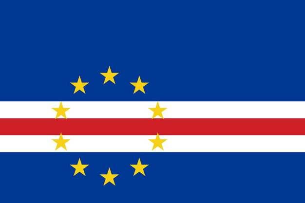 标准版佛得角国旗图片素材
