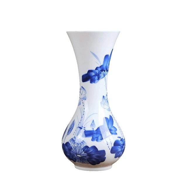 一个青花瓷花瓶271598png图片素材 生活素材-第1张