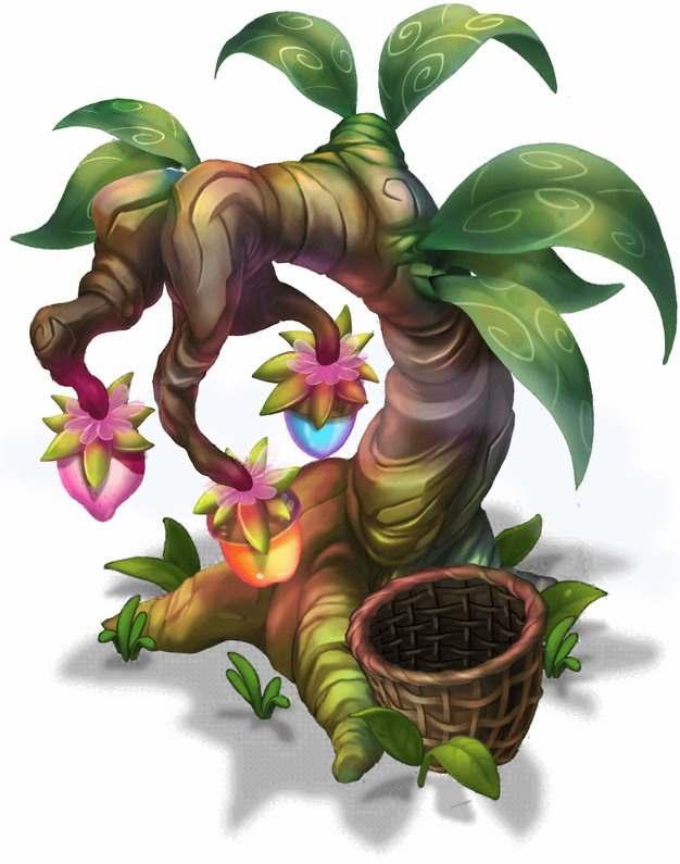 游戏中的果树594443png图片素材