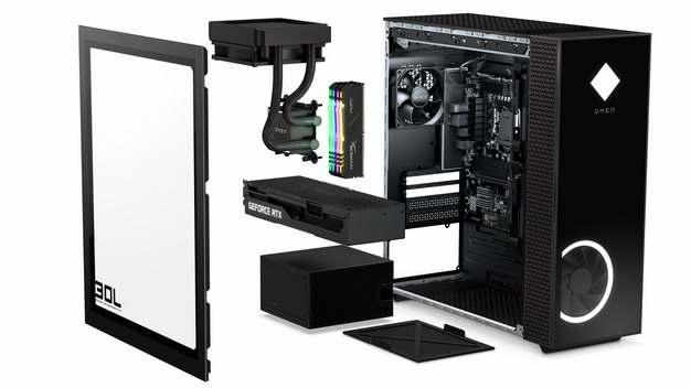 台式机电脑机箱分解图269136png免抠图片素材