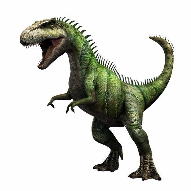 绿色的南方巨兽龙肉食性恐龙779758png免抠图片素材