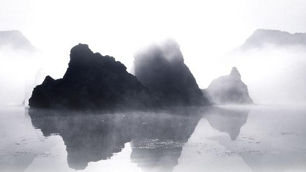 漓江山水画605071png图片素材 生物自然-第1张