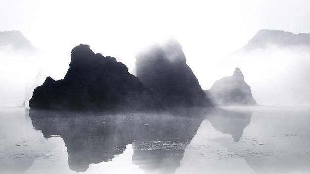 漓江山水画605071png图片素材
