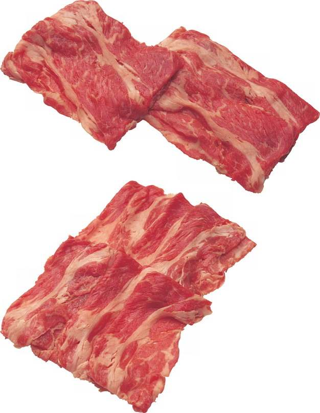 现切的牛肉卷559710png图片素材