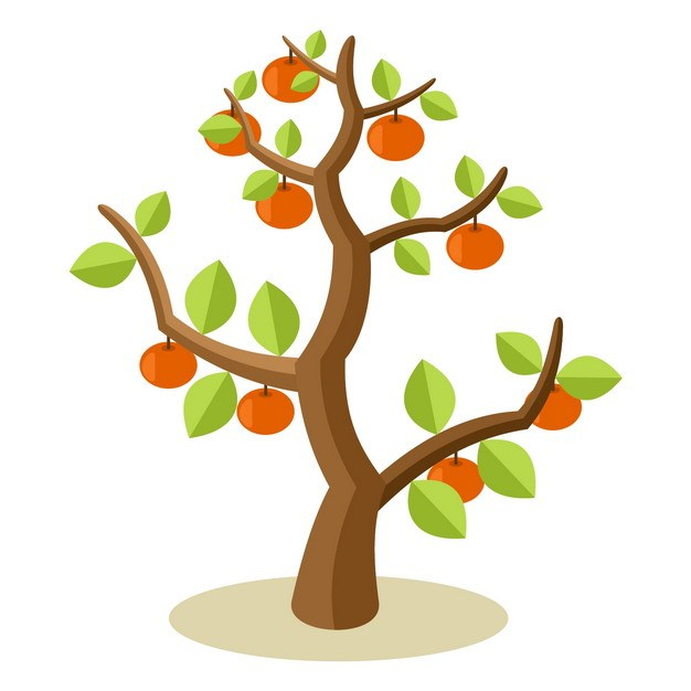 卡通果树928510png图片素材 生物自然-第1张
