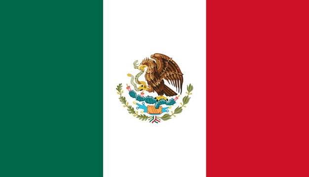 墨西哥国旗png图片免抠素材