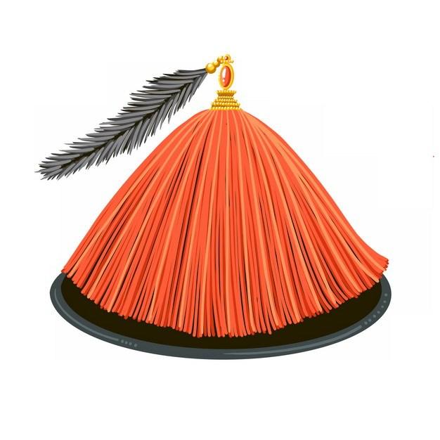 清代官帽清朝官员戴的帽子png图片素材 生活素材-第1张