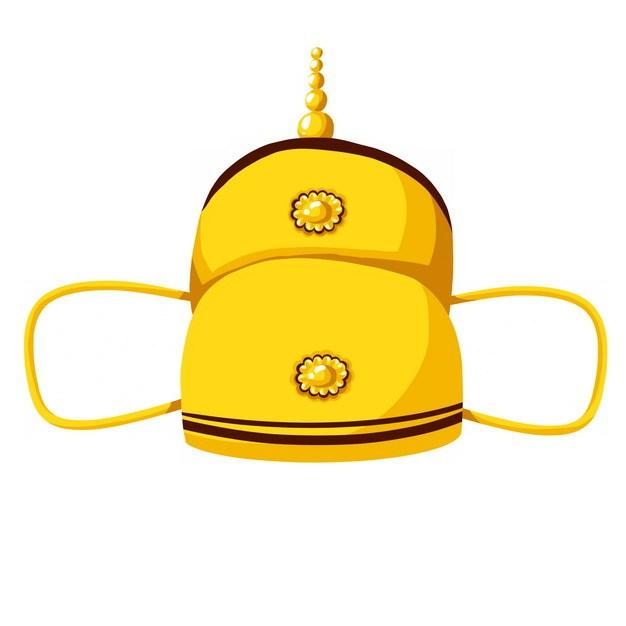 古代皇帝戴的帽子戏曲帽子皇冠png图片素材 生活素材-第1张