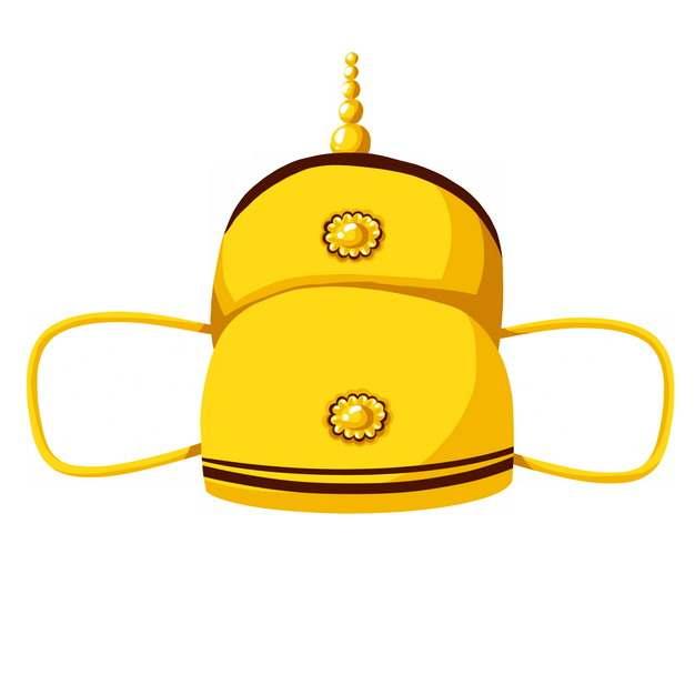 古代皇帝戴的帽子戏曲帽子皇冠png图片素材