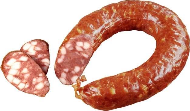 哈尔滨红肠香肠切片173798png图片素材