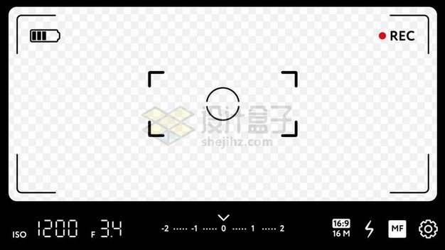 手机相机拍照界面860634png矢量图片素材