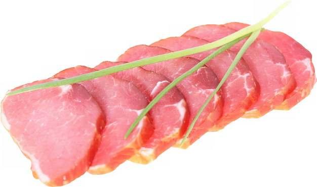 切片的熏肉腊肉716960png图片素材