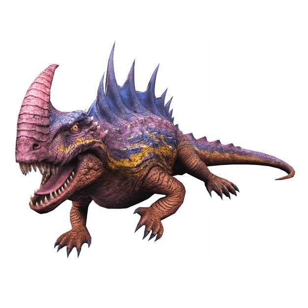 凶猛的恐龙655185png免抠图片素材