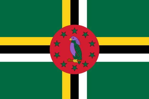 标准版多米尼克国旗图片素材
