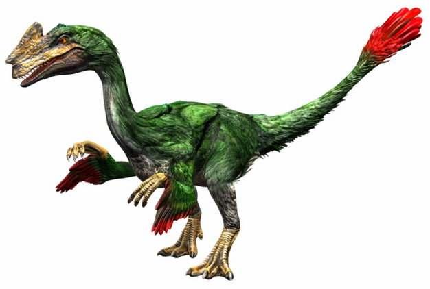 绿色窃蛋龙肉食性恐龙791381png免抠图片素材