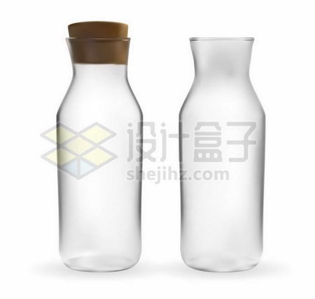 毛玻璃效果的储物瓶玻璃瓶859201png矢量图片素材 生活素材-第1张