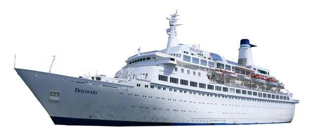 一艘游轮客轮豪华邮轮巨型轮船689936png图片免抠素材