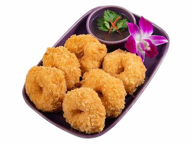 油炸麻薯美味小吃751762png图片素材