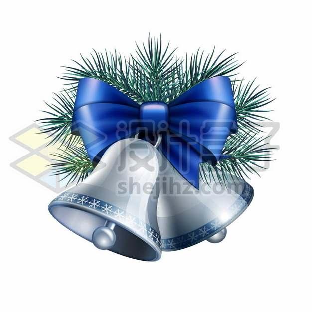 蓝色的圣诞节铃铛216055png免抠图片素材