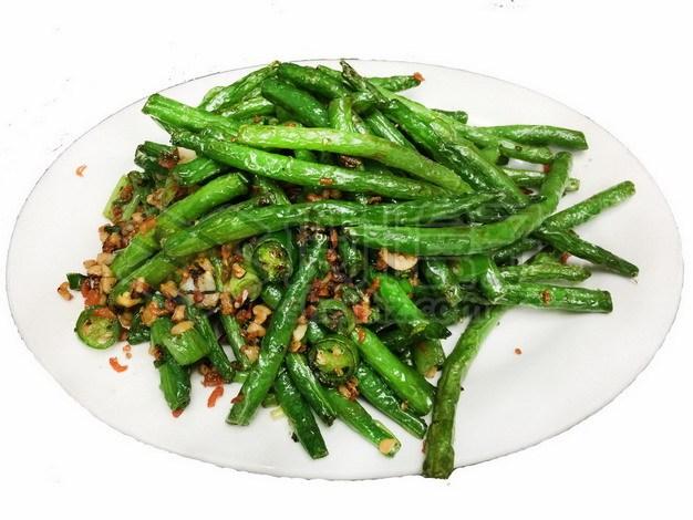 干煸四季豆美味蔬菜958458png免抠图片素材 生活素材-第1张