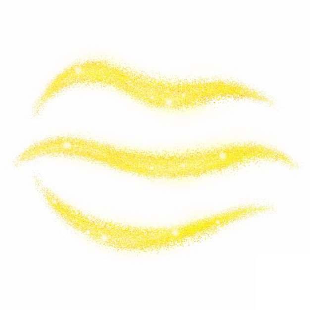 3款光线黄色光芒效果发光感光效果装饰411380PSD免抠图片素材