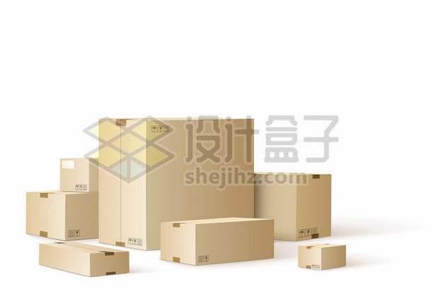 各种纸箱子货物纸盒子248870png免抠图片素材