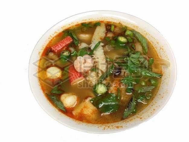 泰式香辣海鲜米粉汤134136png免抠图片素材