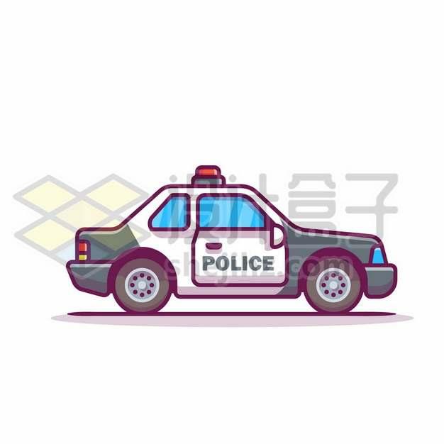MBE风格卡通警车857831png免抠图片素材