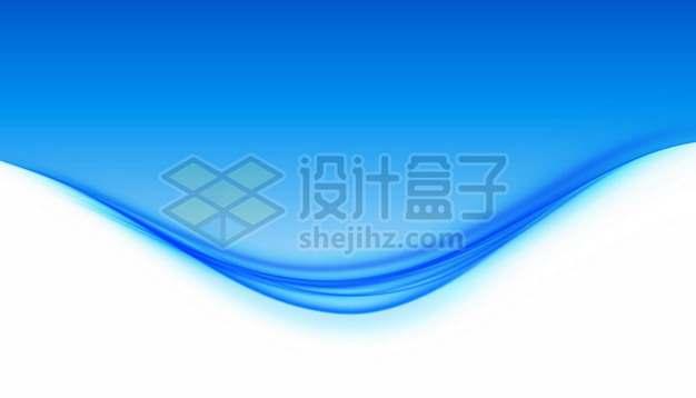 蓝色的水面装饰效果137627免抠矢量图片素材