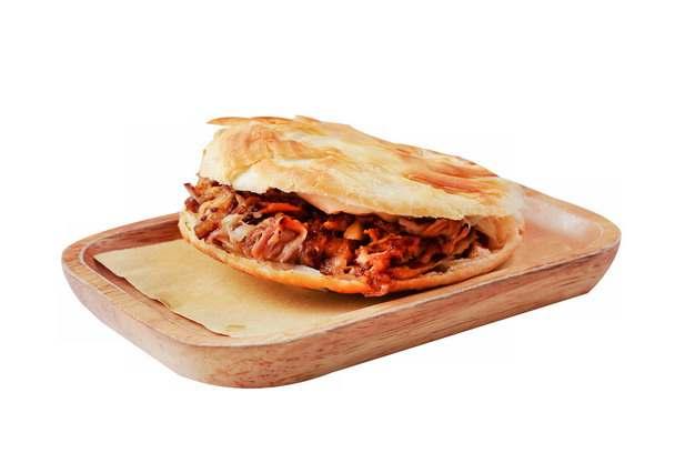 木盘中的肉夹馍799646png图片素材