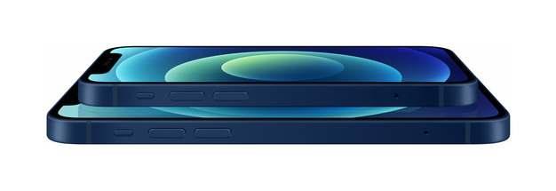 叠放的蓝色苹果iPhone 12 Pro手机png免抠图片素材492973