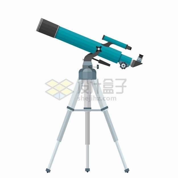 蓝色的折射天文望远镜4929847png图片素材