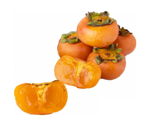 一小堆柿子468765png图片素材